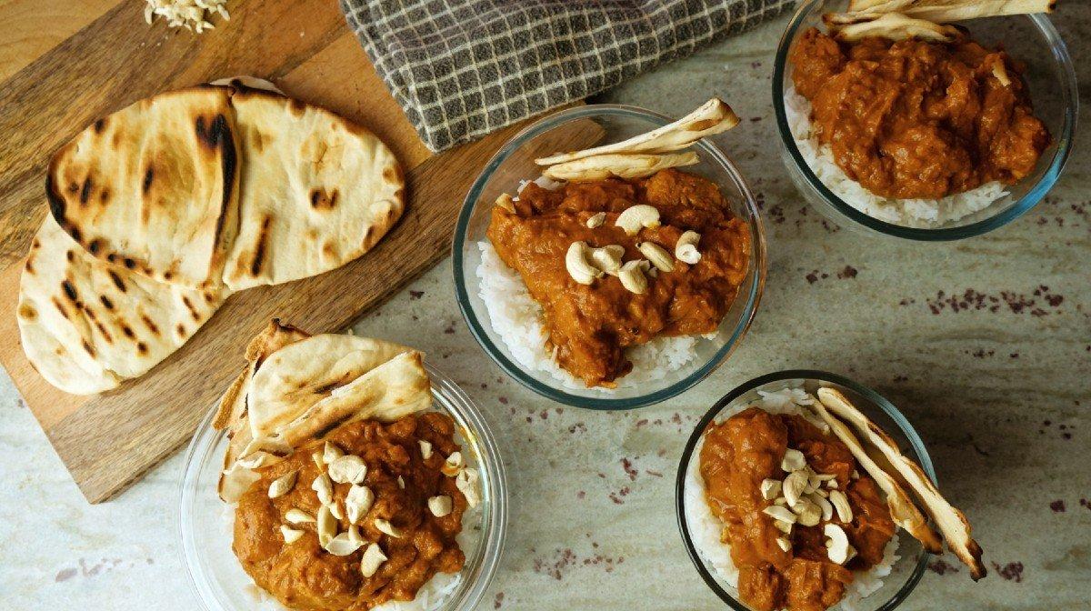 30-Minuten Chicken Tikka Masala Meal Prep