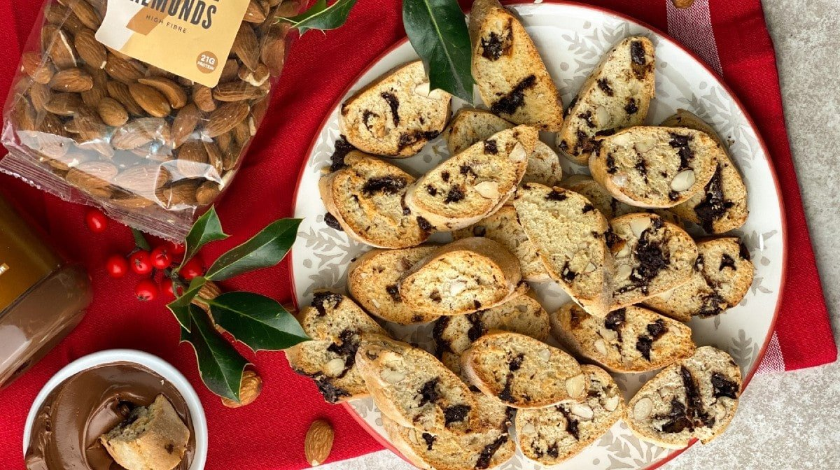5-Ingredient Christmas Biscotti