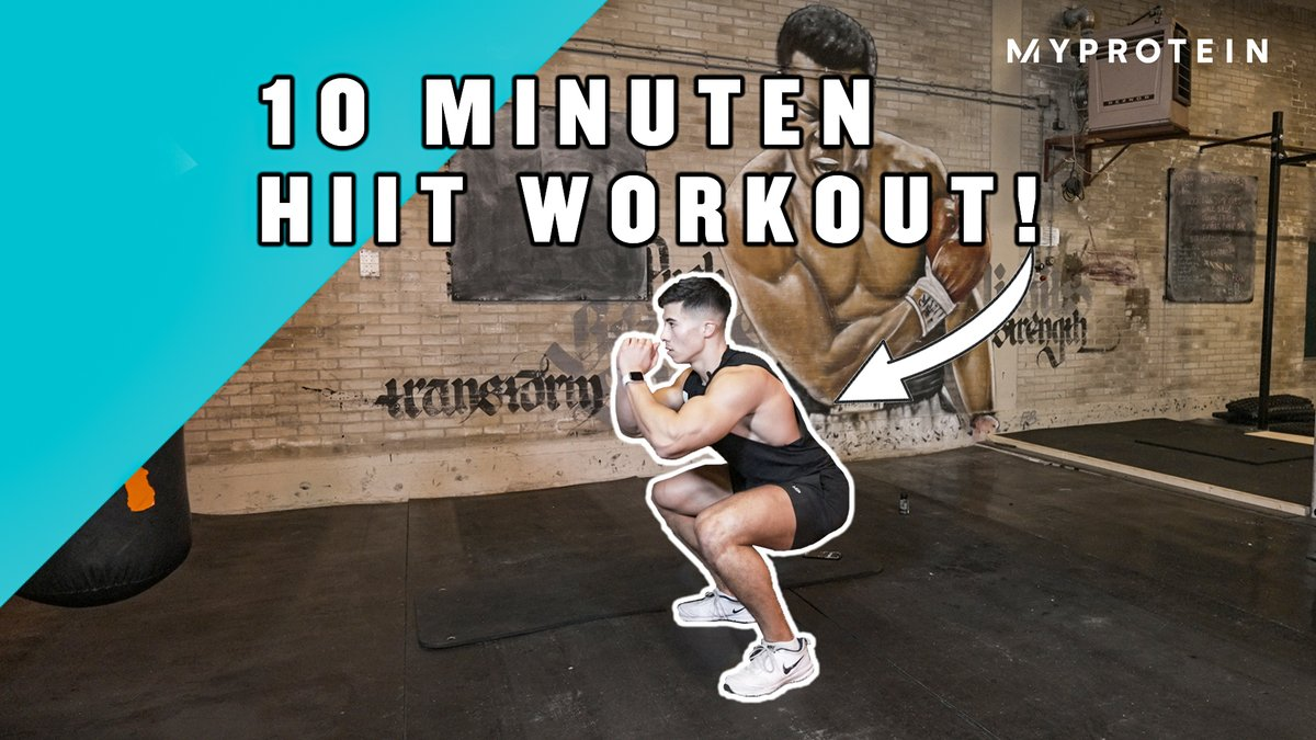 10 Minuten HIIT Workout | Fat Burning Workout