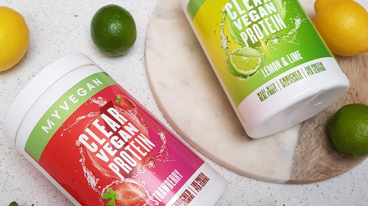 Clear Vegan Protein — Een Wereldprimeur   Bekijk dit sappige drankje