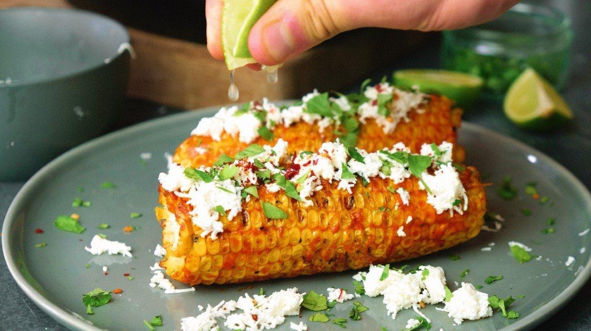 Mexican Grilled Corn   Heerlijk Zomer Recept