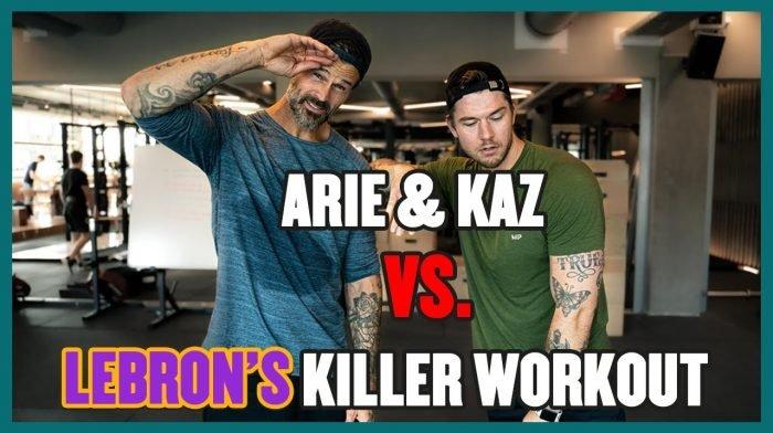 Arie Boomsma & Kaz Van Der Waard VS. Lebron's Killer Workout | Short Series Aflevering 4