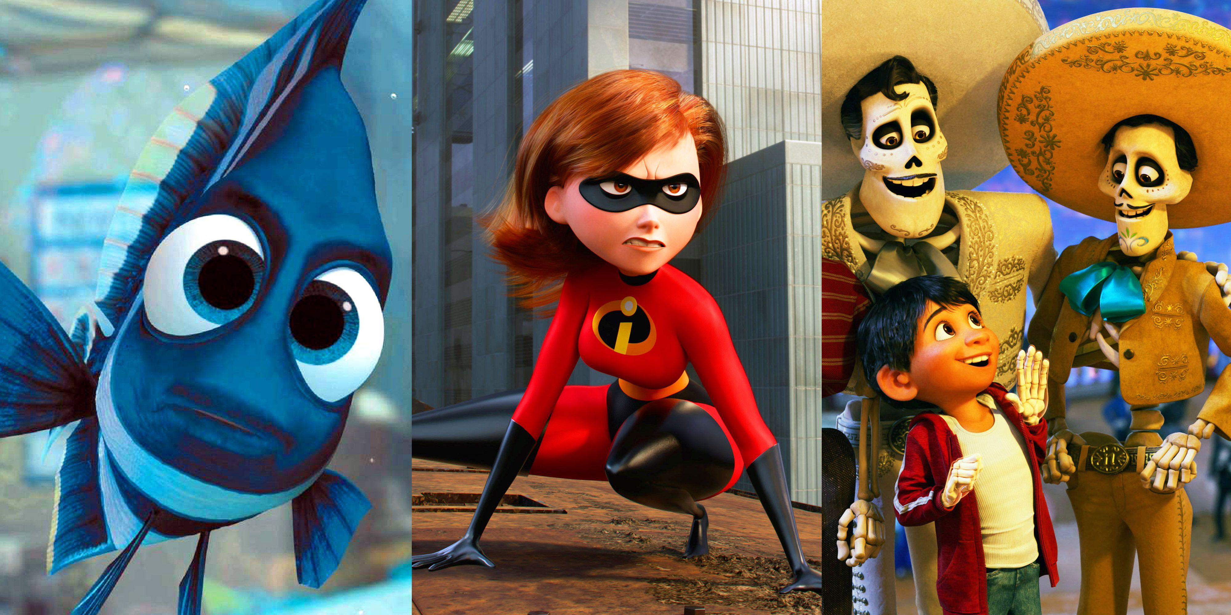 The Top Ten Best Pixar Movie Moments Ranked