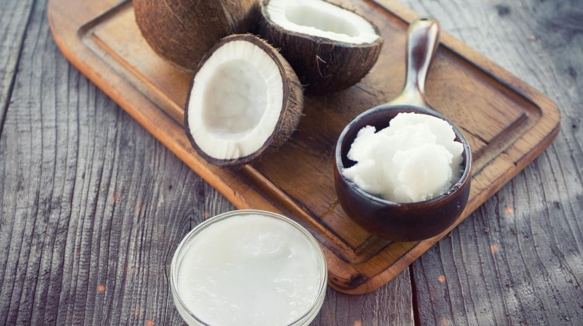 coconut and coconut oil, a source of MCTs