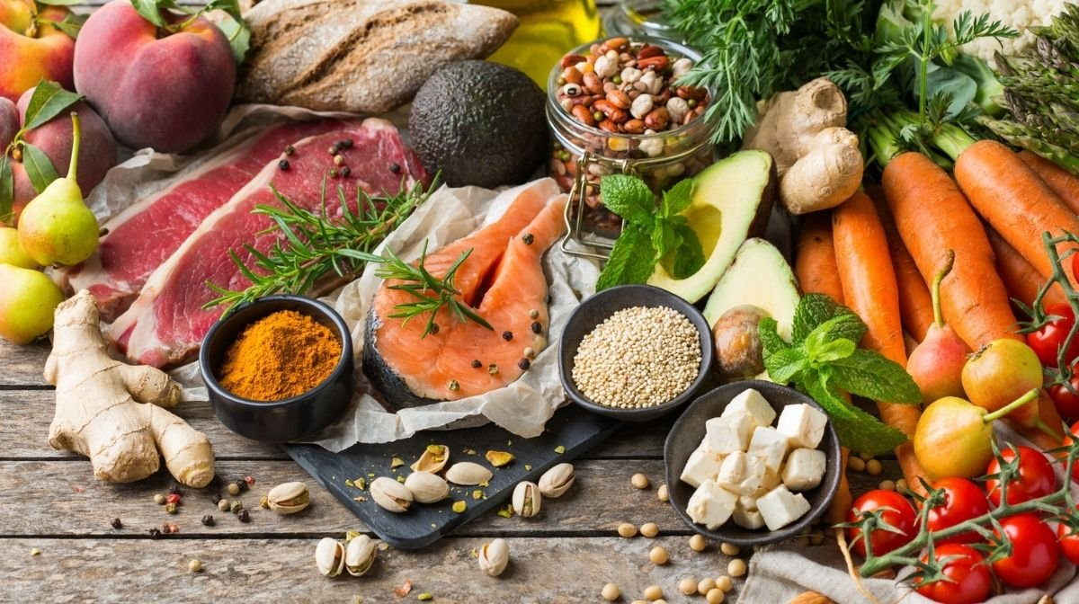 healthy proteins and vegetables