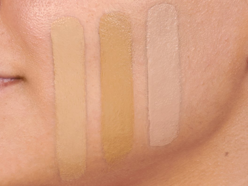 To find the right foundation color, you should try various shades on your face