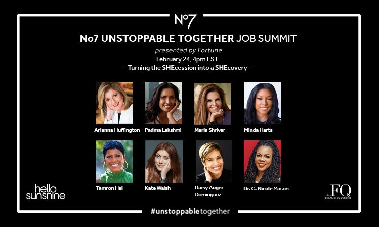 A number of speakers attending the No7 Unstoppable Together Job Summit