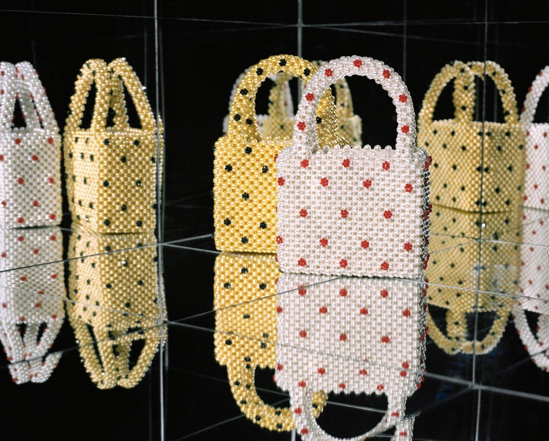 Shrimps pearl handbags