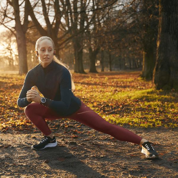 Female stretching sportswear