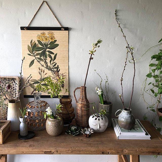 artisanal homeware vases and flowers