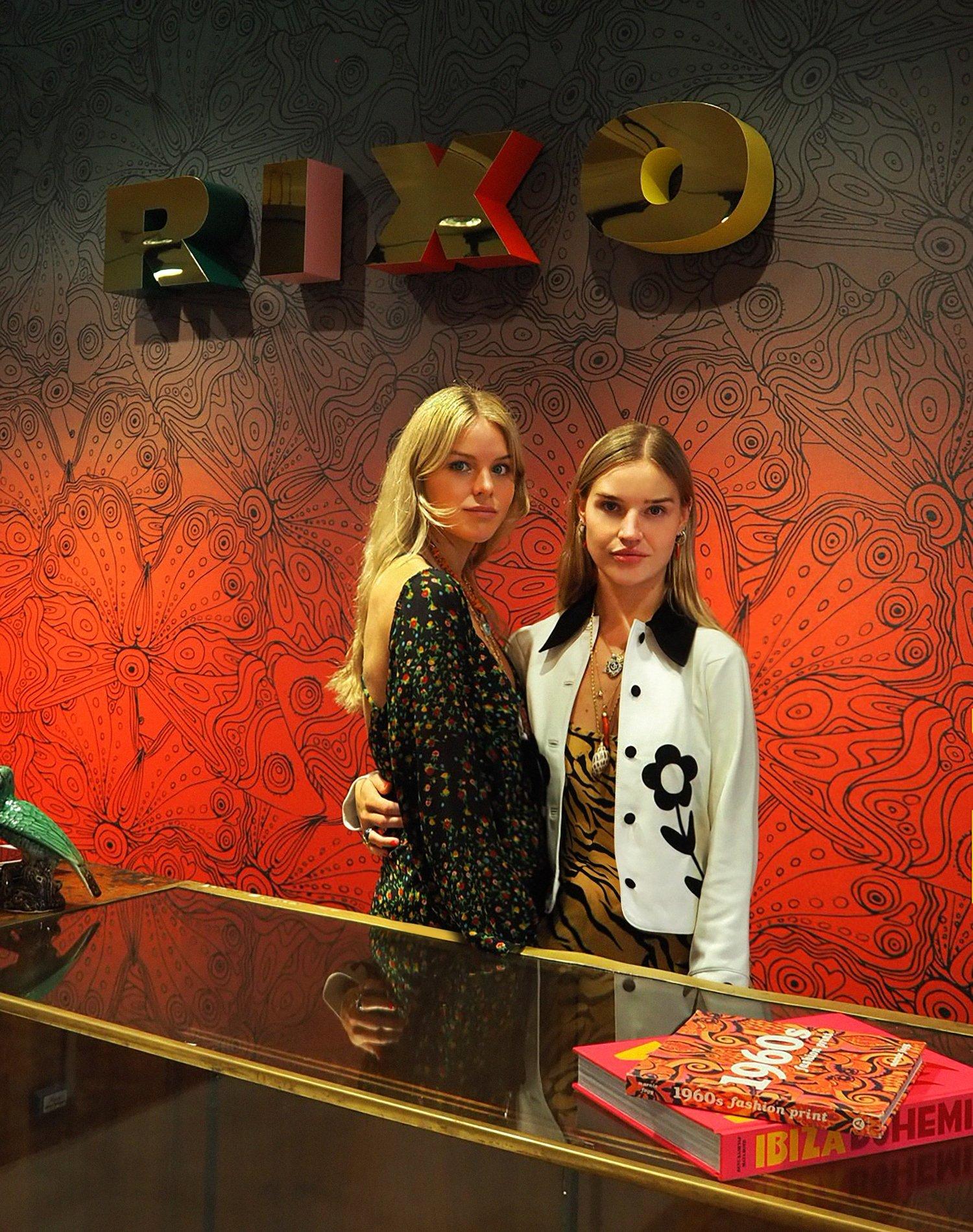 Orlagh and Henrietta RIXO