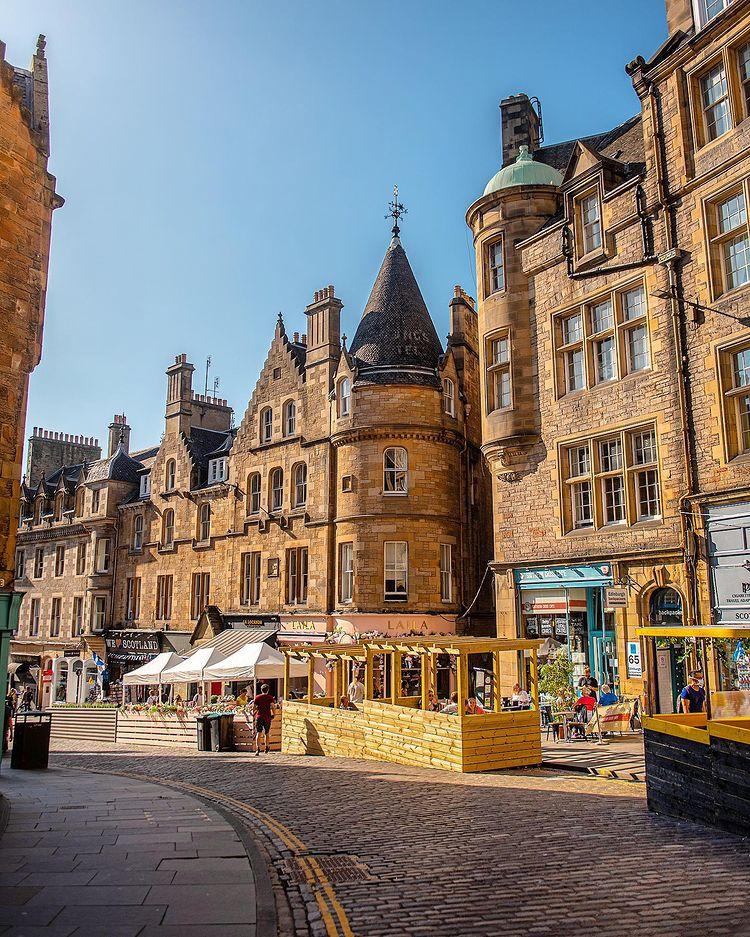 Edinburgh City Street View