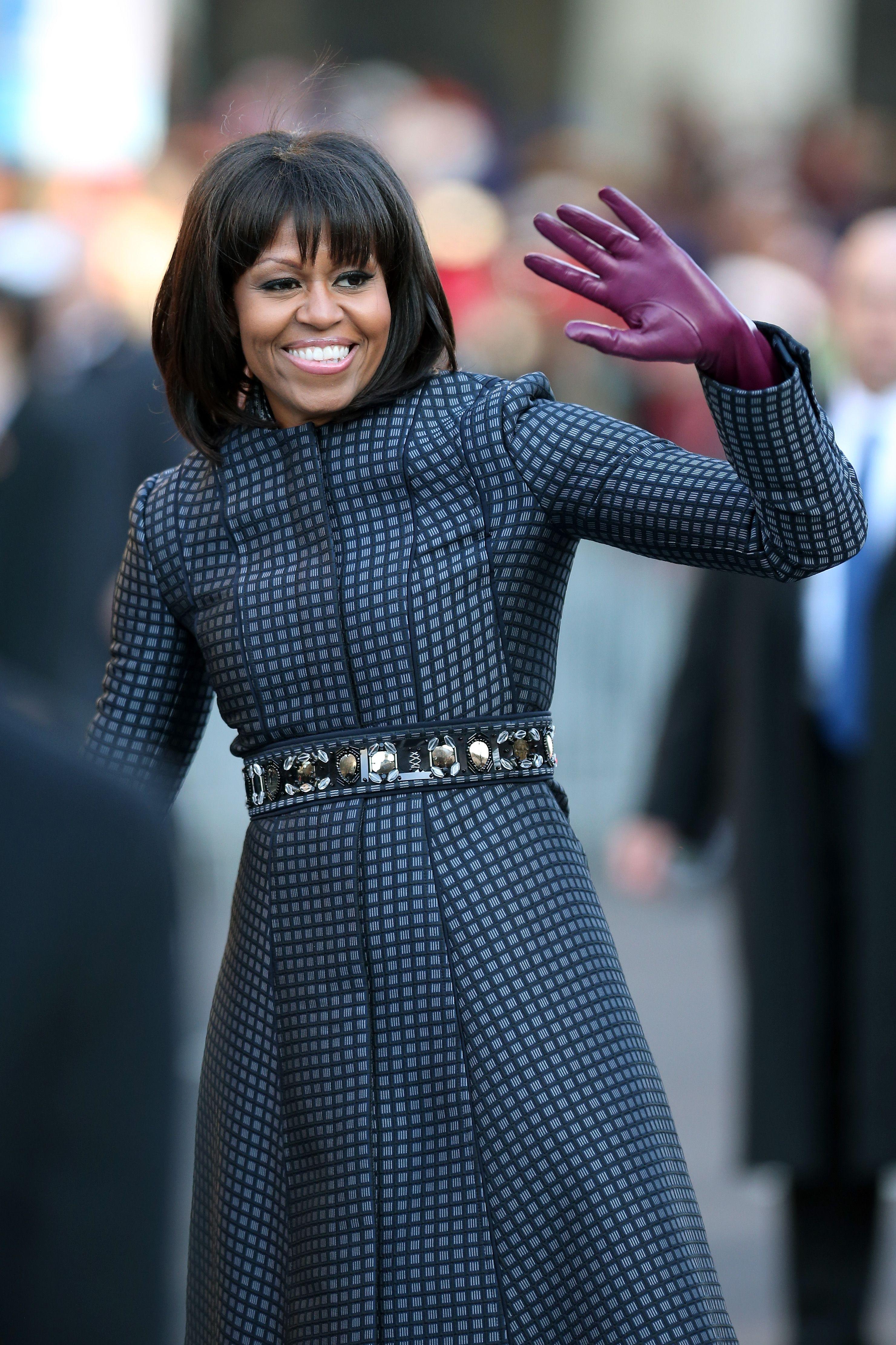 Michelle Obama wearing Thom Browne