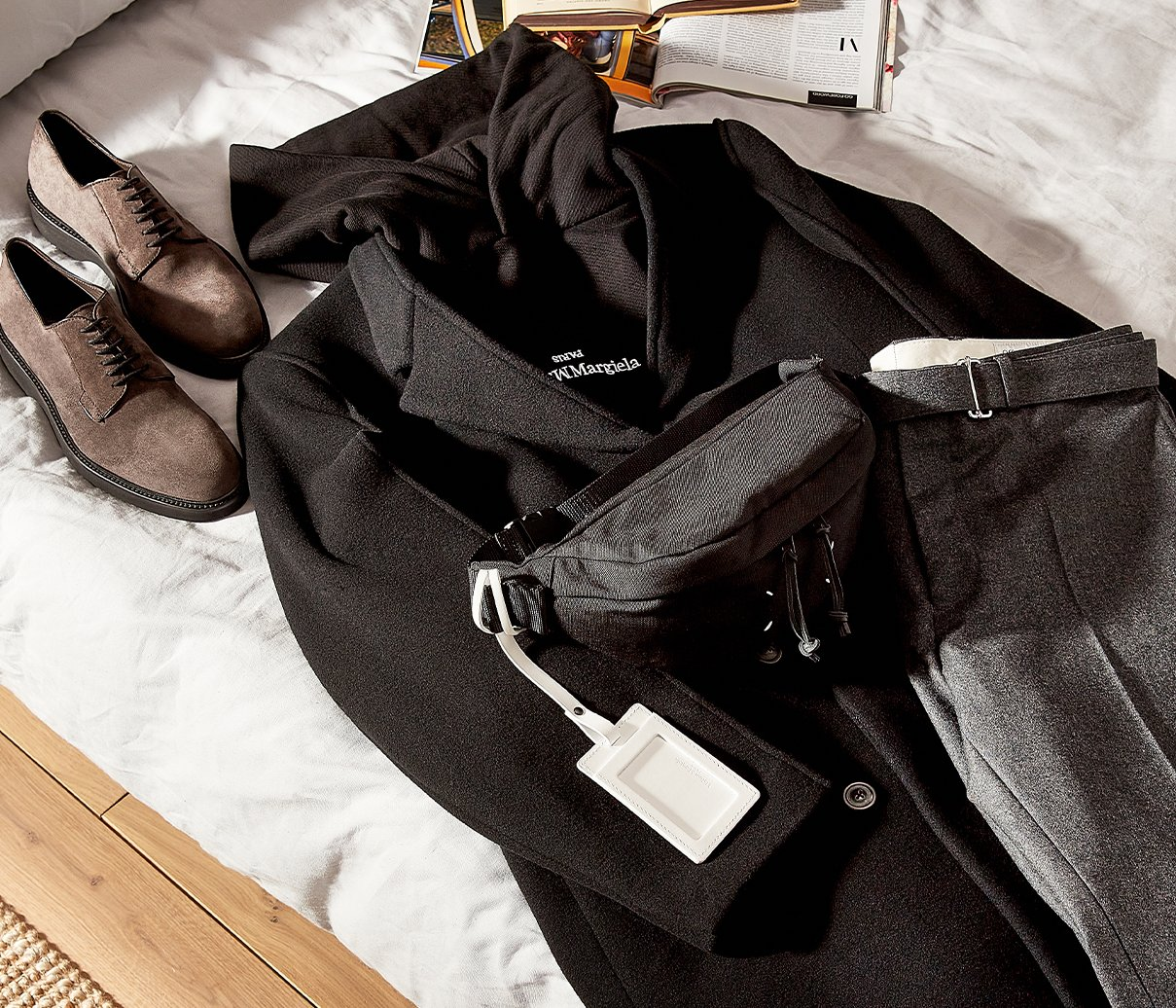 Flat lay - new rules of dressing