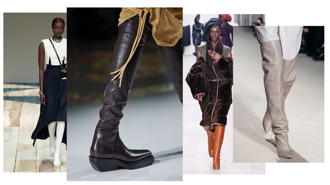Photo credit: Vogue Runway - Bottega Veneta, Richard Malone, Isabel Marant