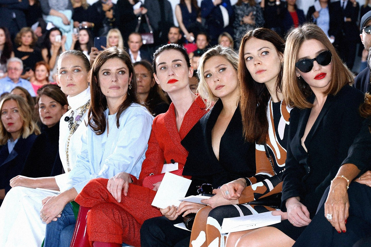 Dior Front frow