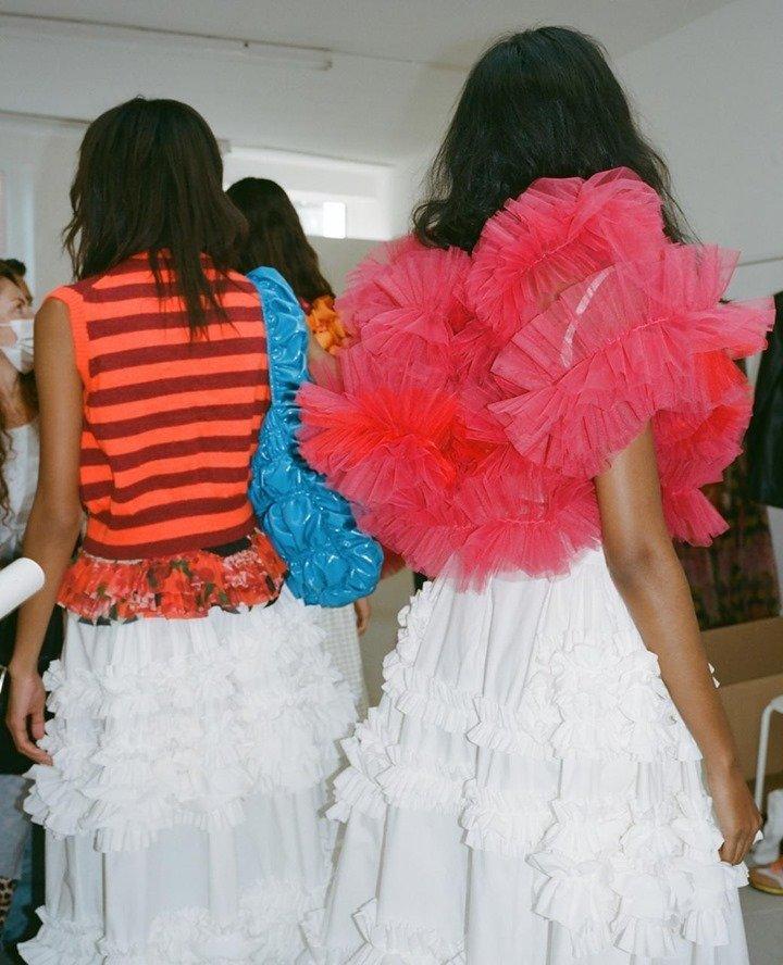british fashion week lfw Molly Goddard