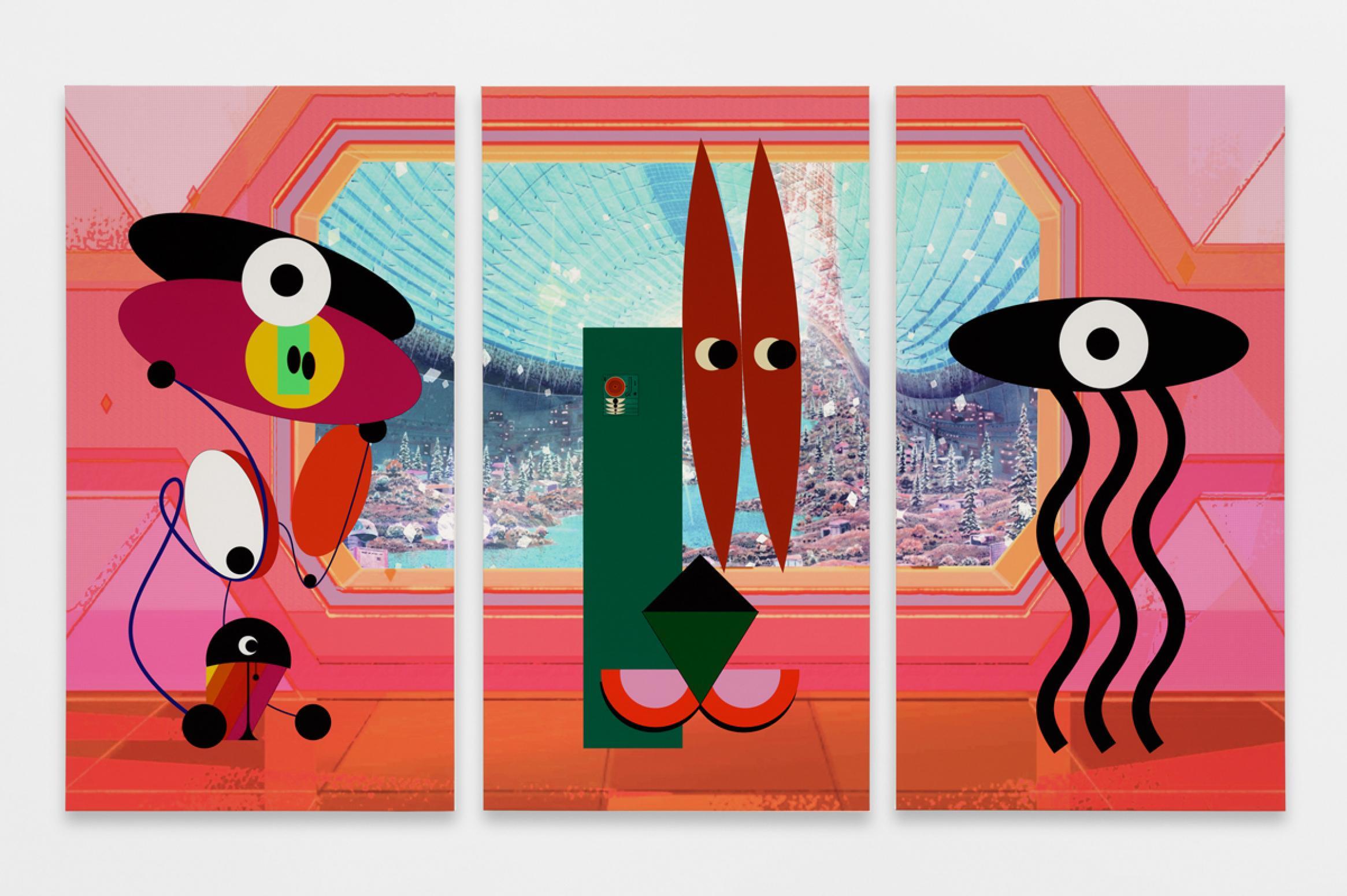 uk art exhibitions ad minoliti at BALTIC Gateshead
