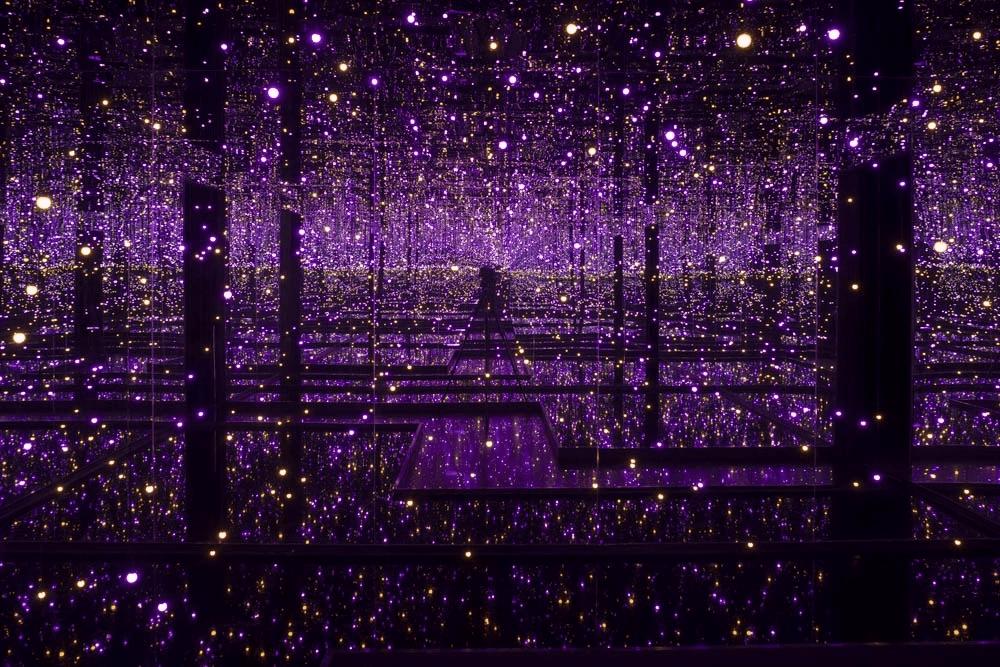 uk art exhibition yayoi Kusama infinity rooms