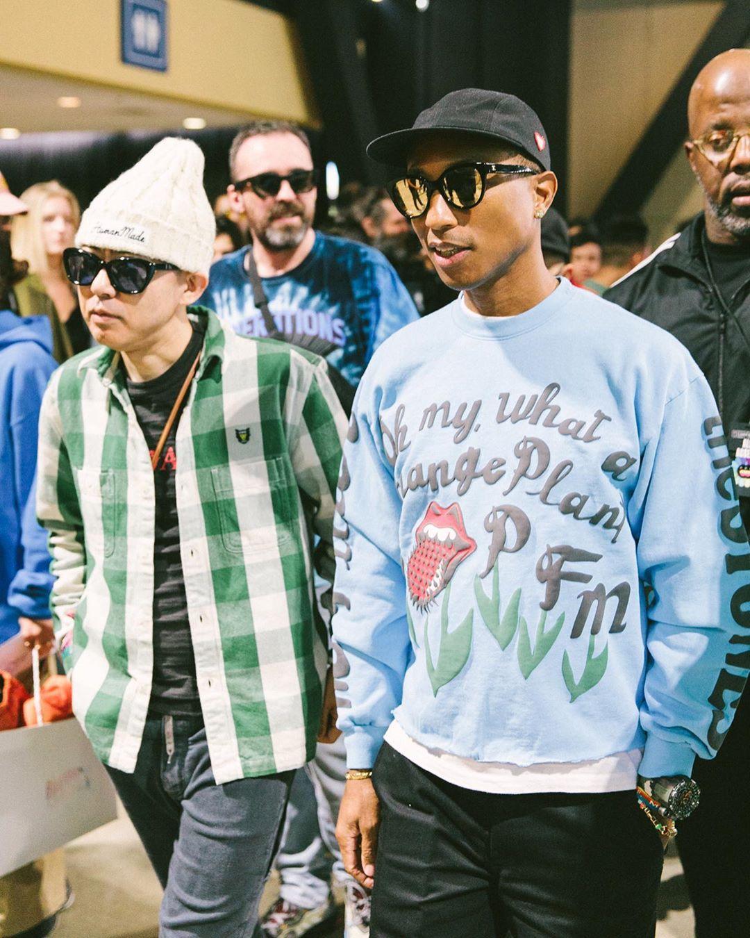 Pharrelll and Nigo
