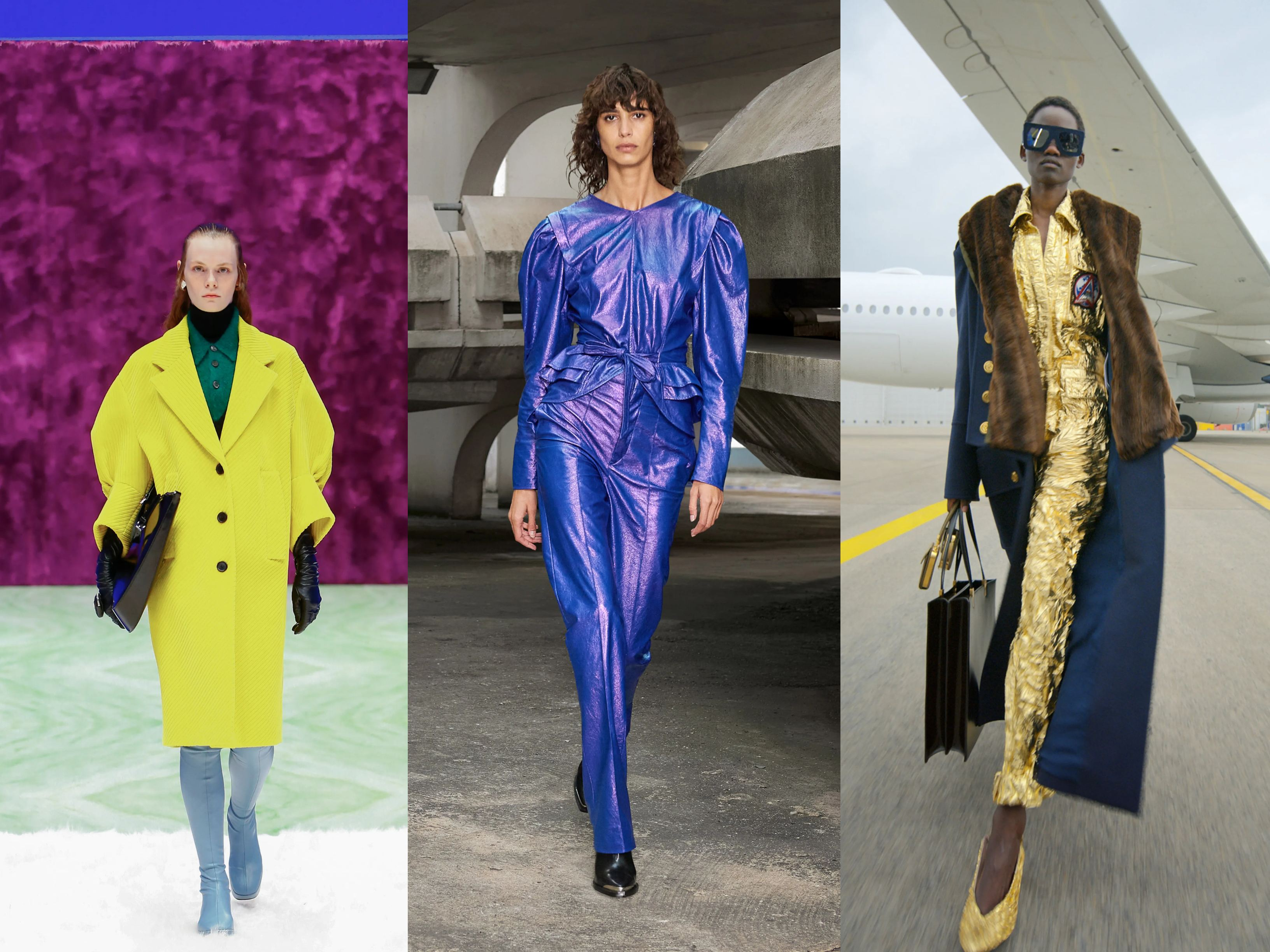 Models wearing AW21 trends