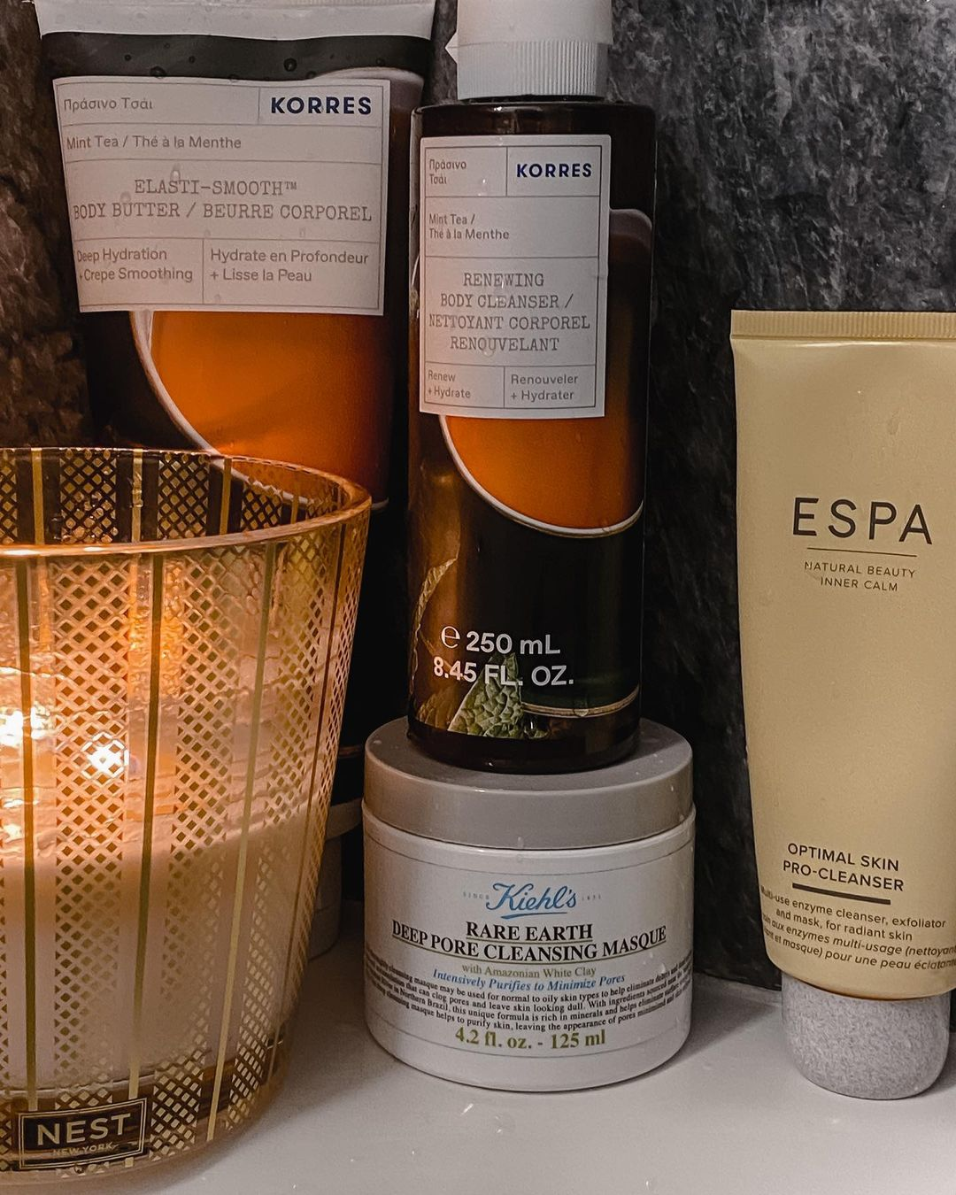 spa at home - candle