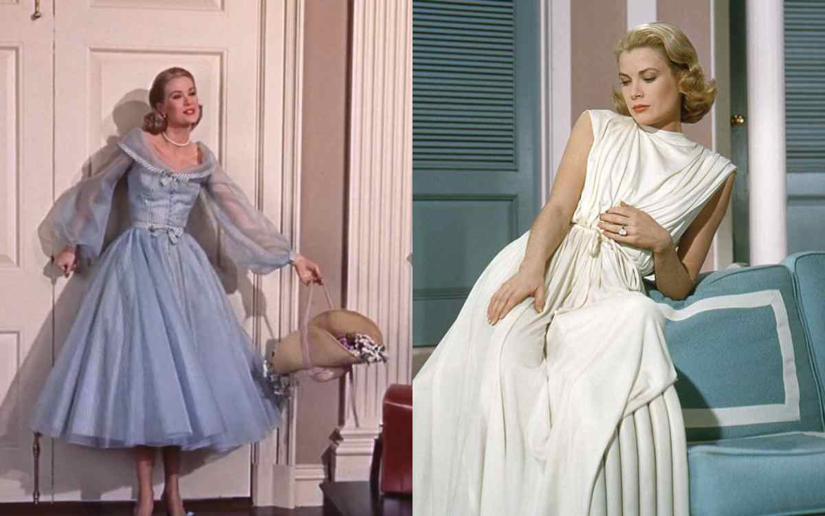 Grace Kelly's Outfits in High Society