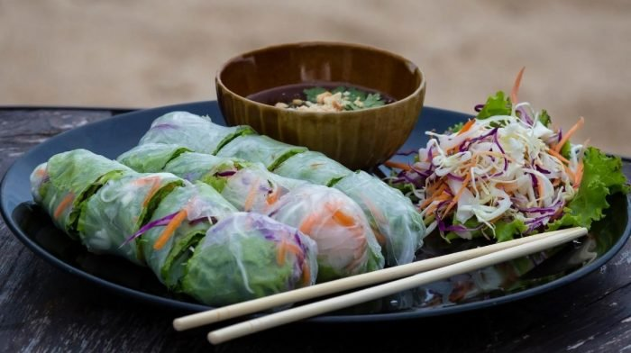 Recipe: Veggie Summer Rolls