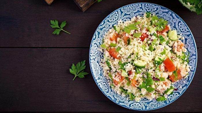 Recipe: Cauliflower Tabbouleh Salad