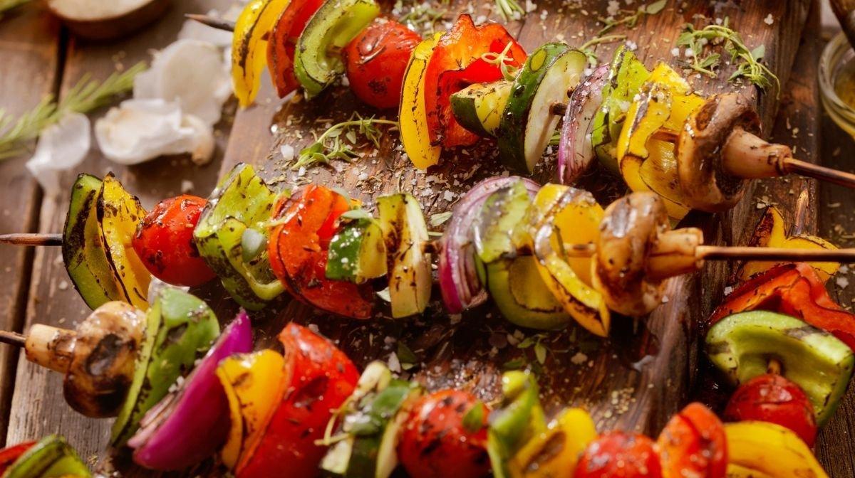 Recipe: BBQ Vegetable Kebabs