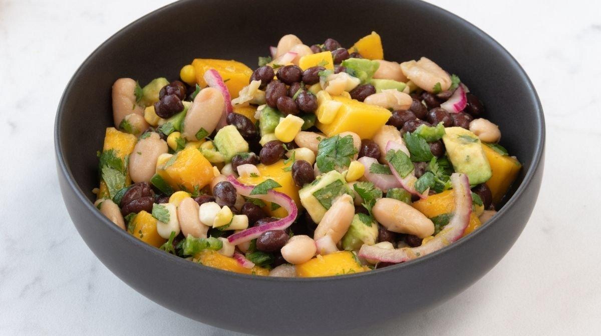 Recipe: Mixed Bean & Pineapple Salsa