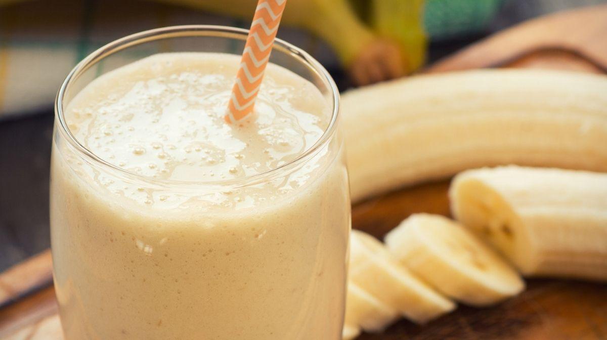 Low-Calorie Banana & Vanilla Smoothie Recipe