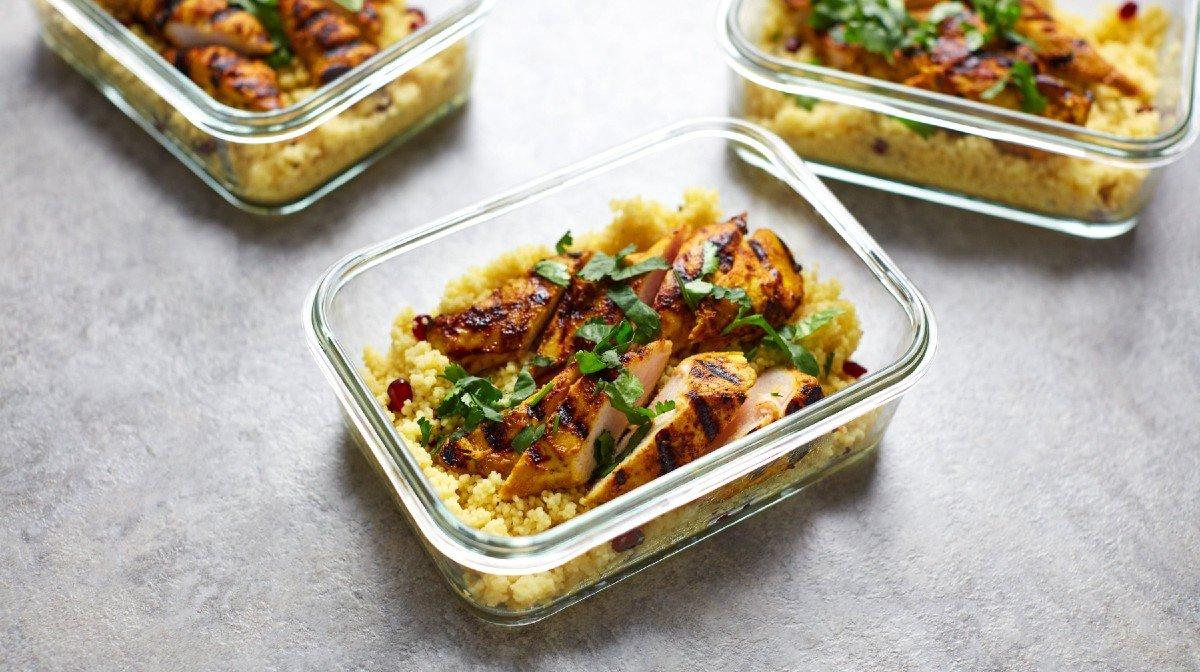 Pikantní kuřecí kuskus | Nutričně vyvážená jídla