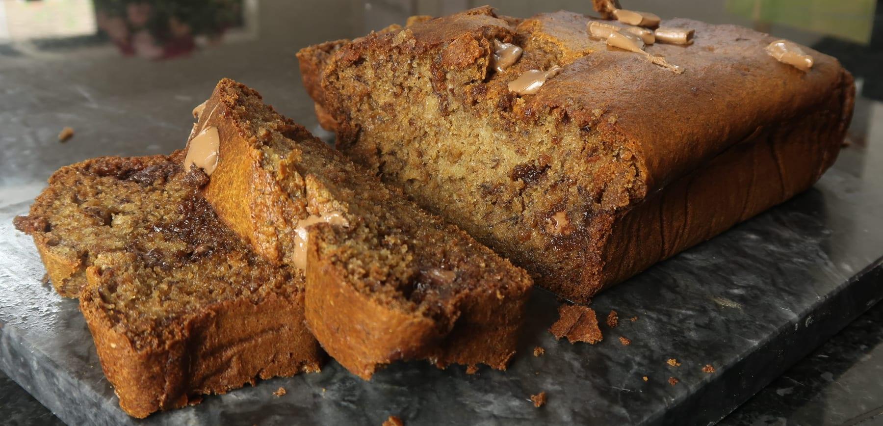 Banana bread snízkým obsahem cukru – lahodný a jednoduchý recept
