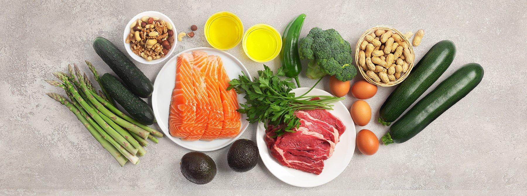 Které potraviny můžete jíst na keto dietě?