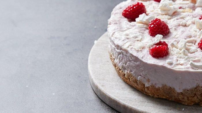 Eton Mess proteinový mražený cheesecake | Světová kuchyně