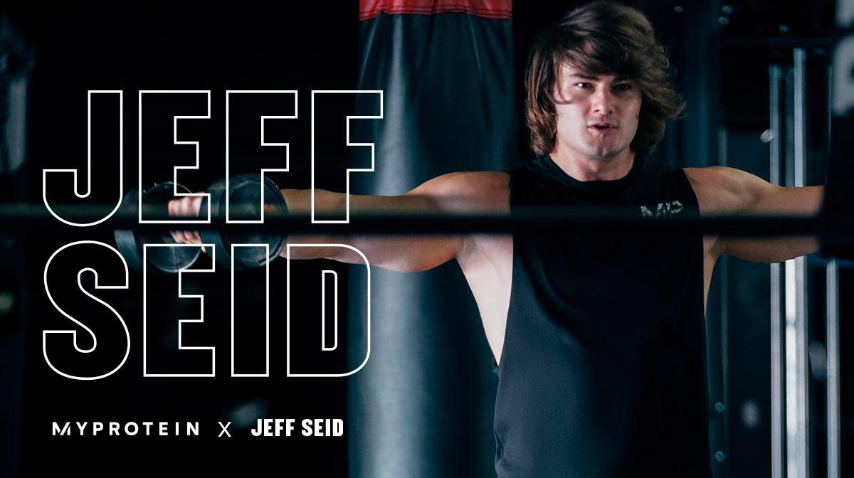 Jeff Seid a jeho 4 nejoblíbenější suplementy od Myprotein