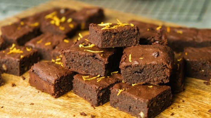 Čokoládovo-pomerančové brownies