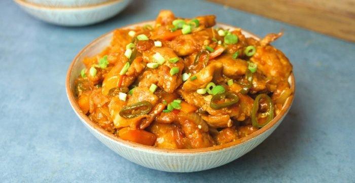 Česnekové chilli kuře | Lahodné recepty jako zrestaurace
