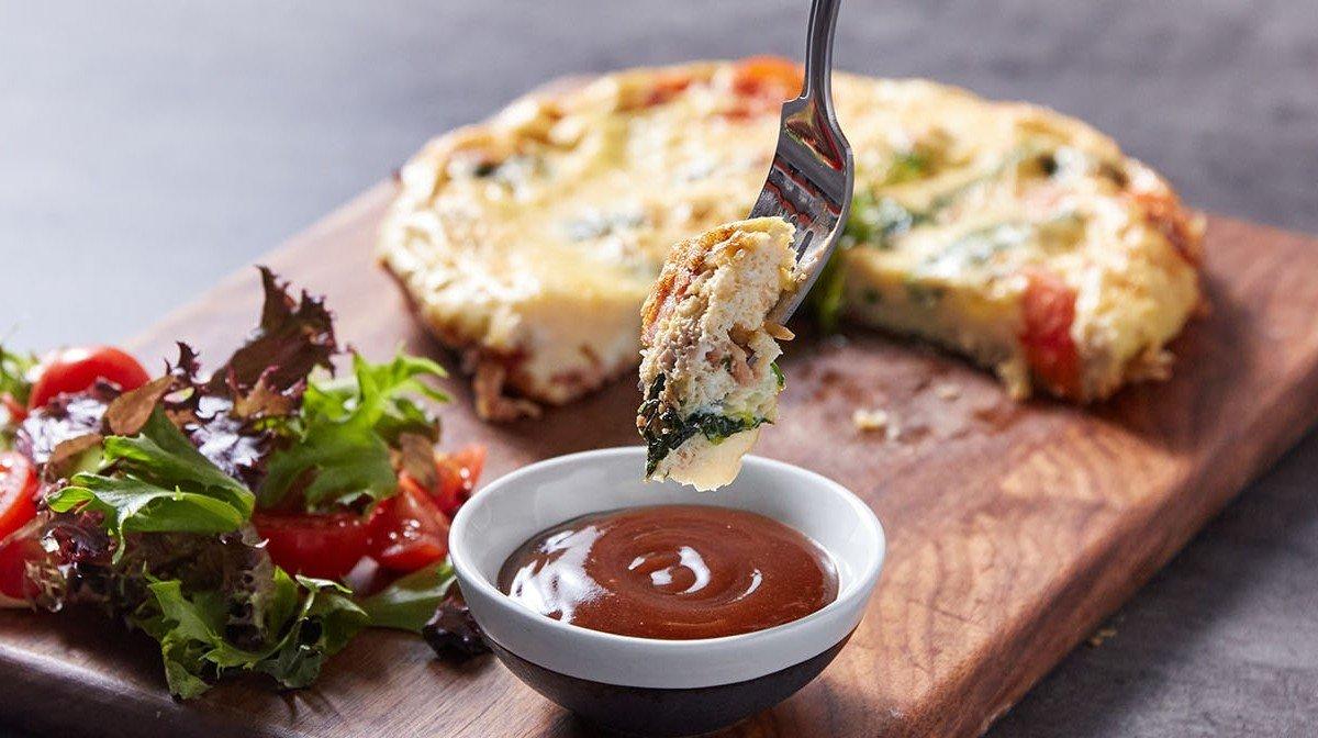 Snídaňová omeleta podle Mike Thurstona | Proteinová snídaně