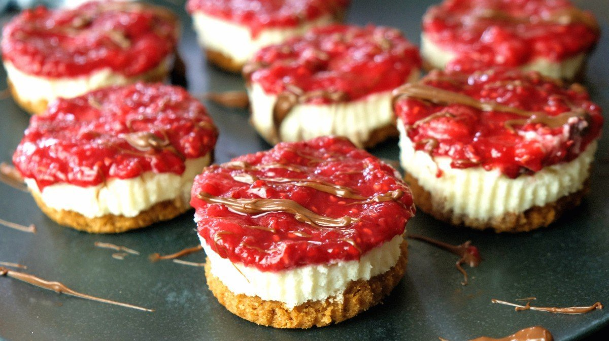 Mini proteinové cheesecaky