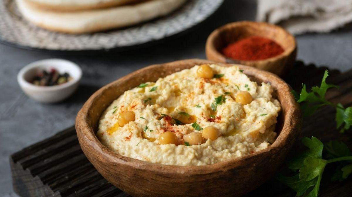 Hummus con extra de proteínas
