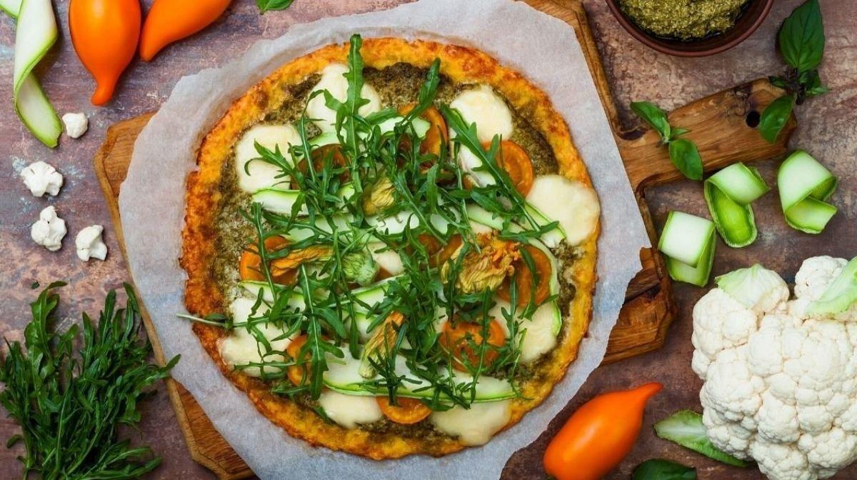 Протеиновое тесто для пиццы