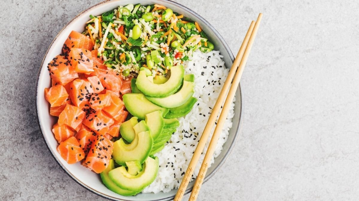 Salmon Poke Bowl Omega-3 Recipe