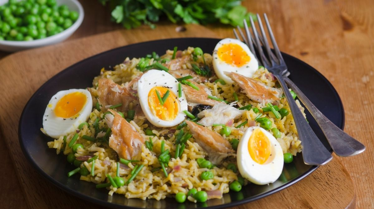 kedgeree, which is rich in omage-3