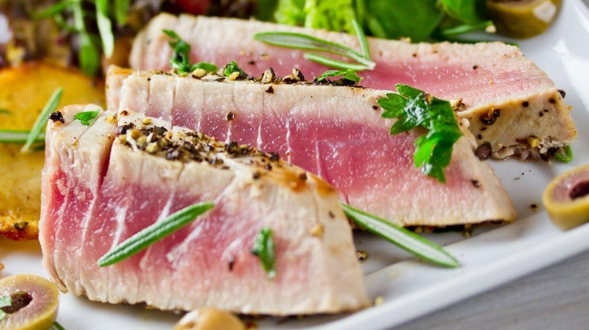 Mediterranean Tuna Steaks Omega-3 Recipe