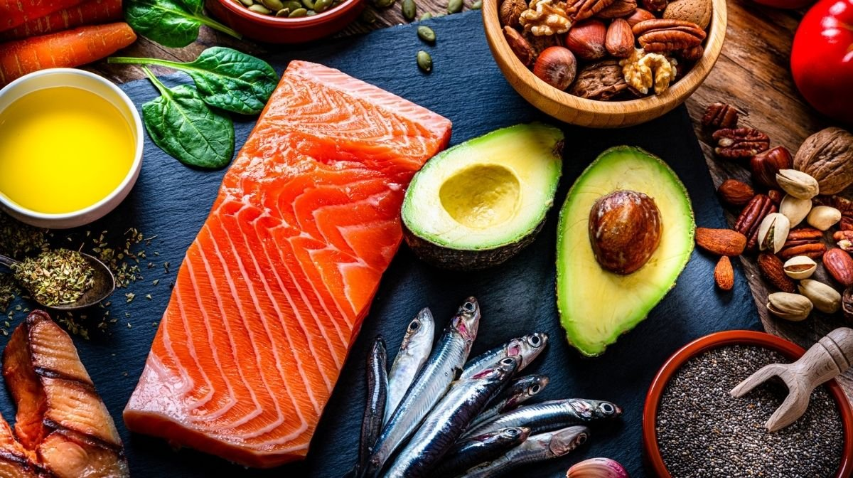 salmon and other foods containing omega-3