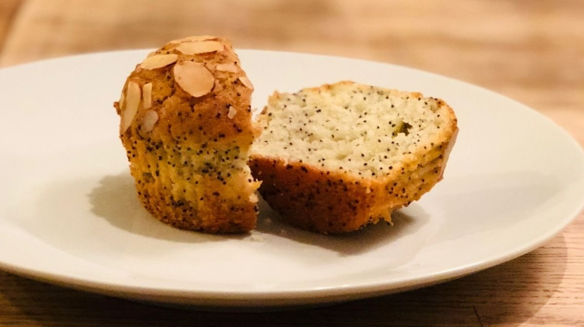 high-protein muffin