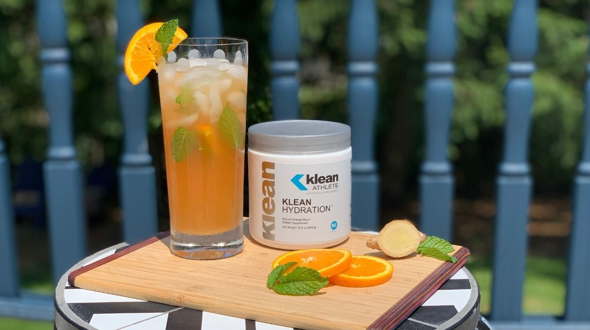 drink made using Klean Hydration