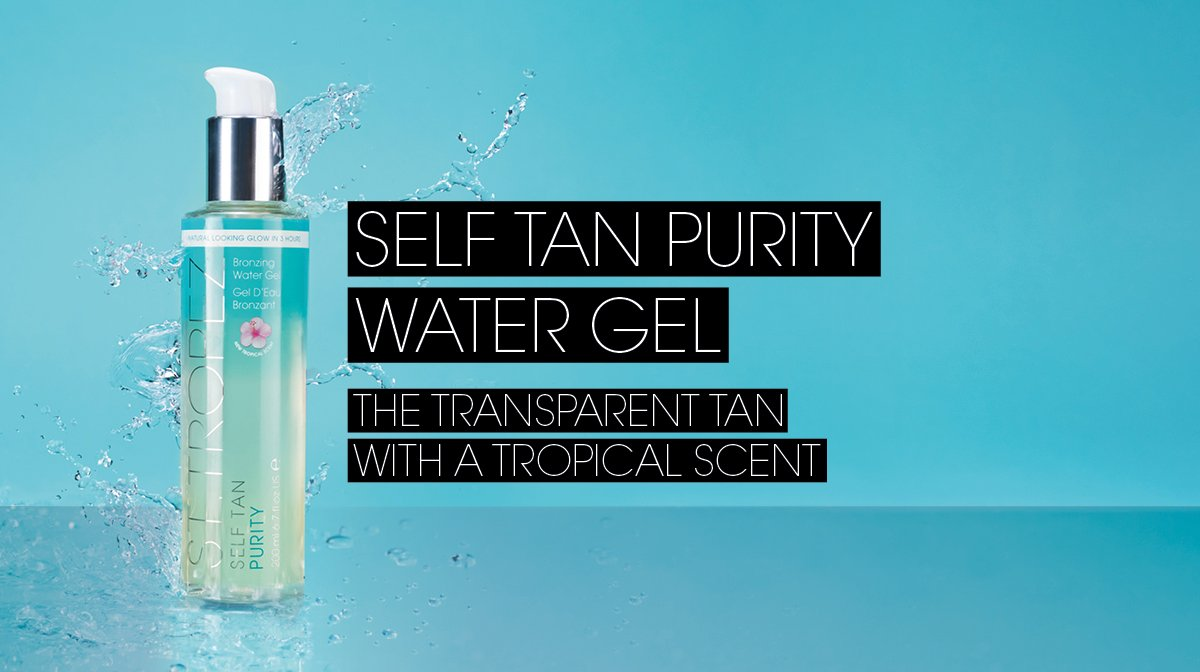 How To Tan | Self Tan Purity Water Gel